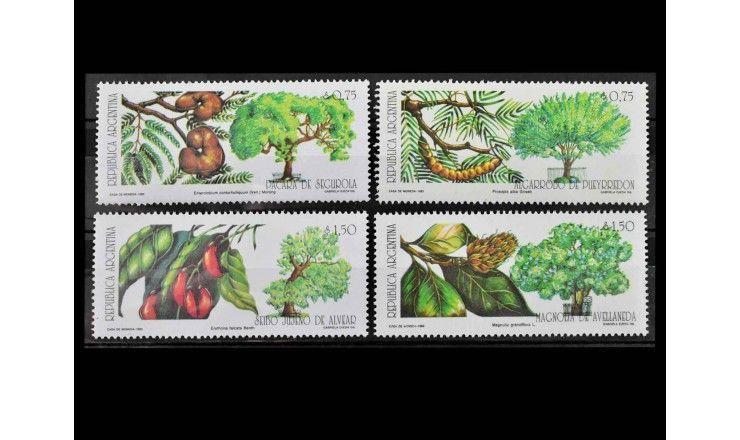 "Аргентина 1993 г. ""Деревья в Буэнос-Айресе"""
