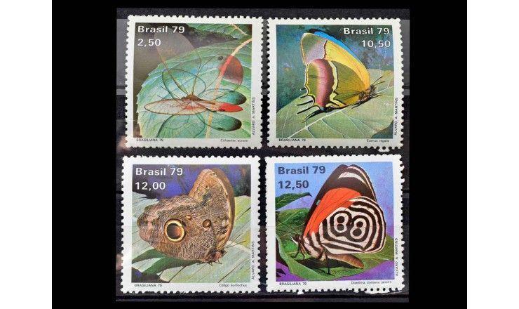 """Бразилия 1979 г. """"Бабочки"""""""