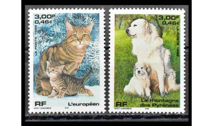 """Франция 1999 г. """"Домашние животные"""""""