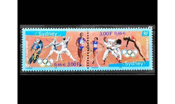 """Франция 2000 г. """"Летние Олимпийские игры, Сидней"""""""