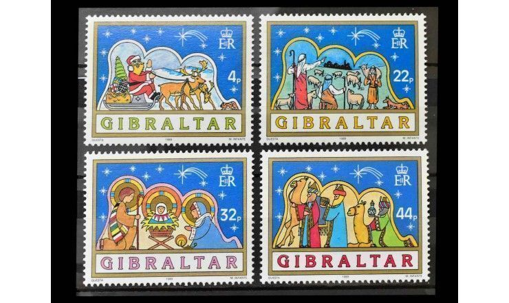 "Гибралтар 1989 г. ""Рождество"""