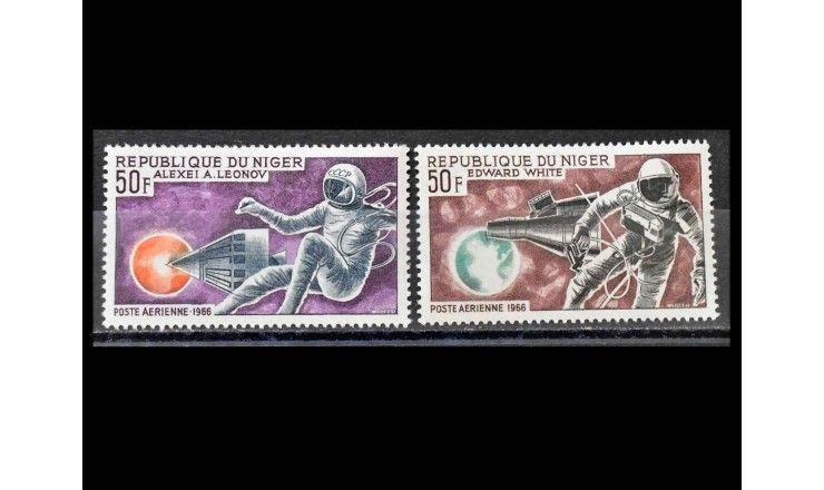 """Нигер 1966 г. """"Астронавты"""""""