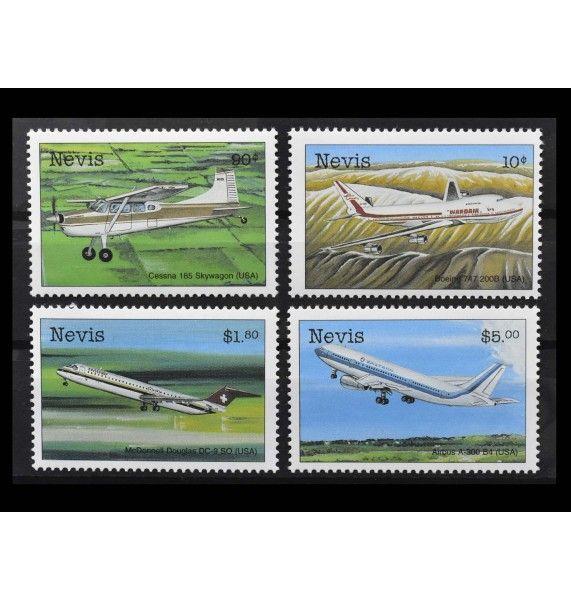 """Невис 1998 г. """"Гражданские и военные самолеты"""""""