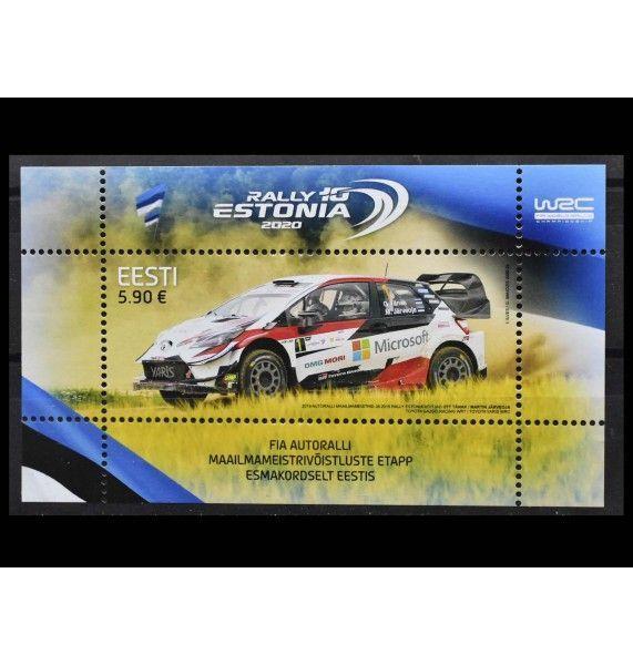 """Эстония 2020 г. """"WRC Rally Estonia"""""""