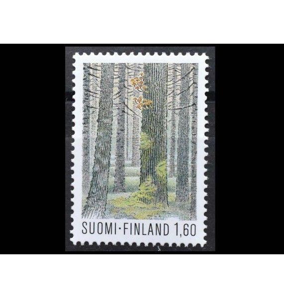 """Финляндия 1982 г. """"Стандартная марка: Финский национальный парк"""""""