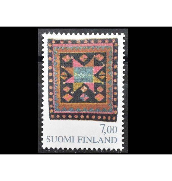 """Финляндия 1982 г. """"Стандартная марка: Народное искусство"""""""