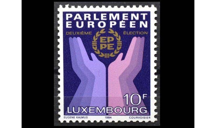 "Люксембург 1984 г. ""Выборы Европарламента"""