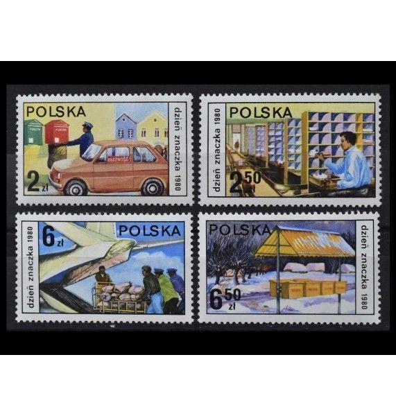 """Польша 1980 г. """"День почтовой марки"""""""