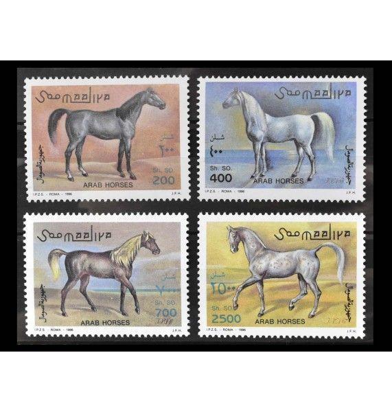 "Сомали 1996 г. ""Арабские лошади"""