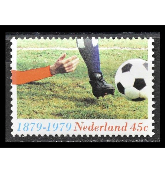 """Нидерланды 1979 г. """"100 лет футбольным видам спорта в Нидерландах"""""""
