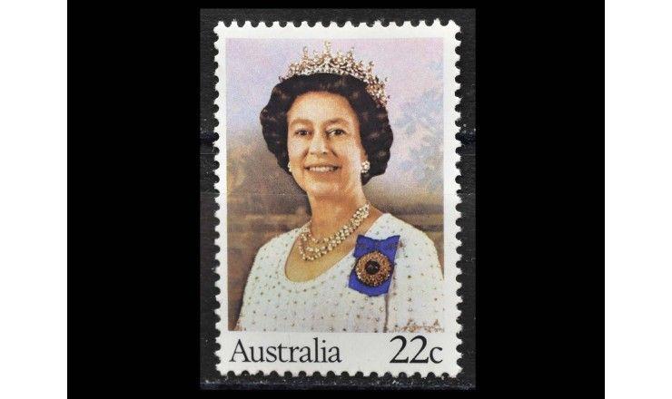 """Австралия 1980 г. """"54-летие со дня рождения королевы Елизаветы II"""""""