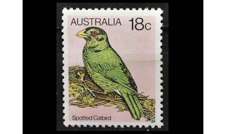 "Австралия 1980 г. ""Стандартные марки: Птицы"""