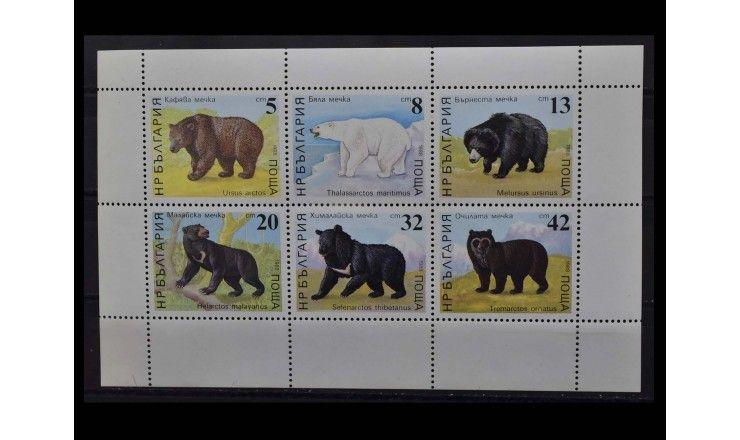 """Болгария 1988 г. """"Медведи"""""""