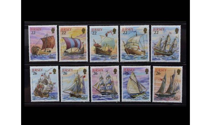 """Джерси 2000 г. """"Морское наследие: Корабли"""""""