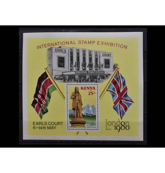 """Кения 1980 г. """"Международная выставка марок, LONDON 1980"""""""