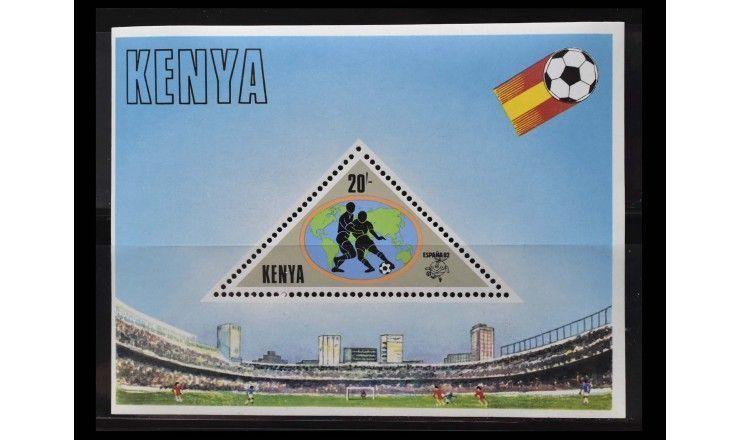 """Кения 1982 г. """"Чемпионат мира по футболу, Испания"""""""