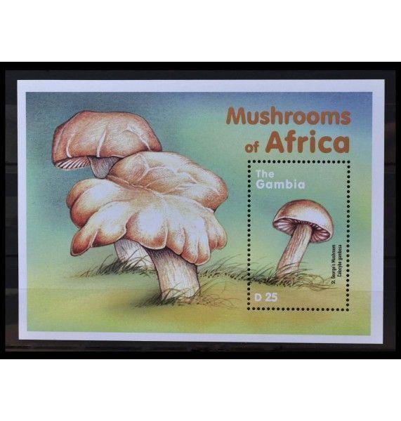 """Гамбия 2000 г. """"Грибная флора Африки"""""""