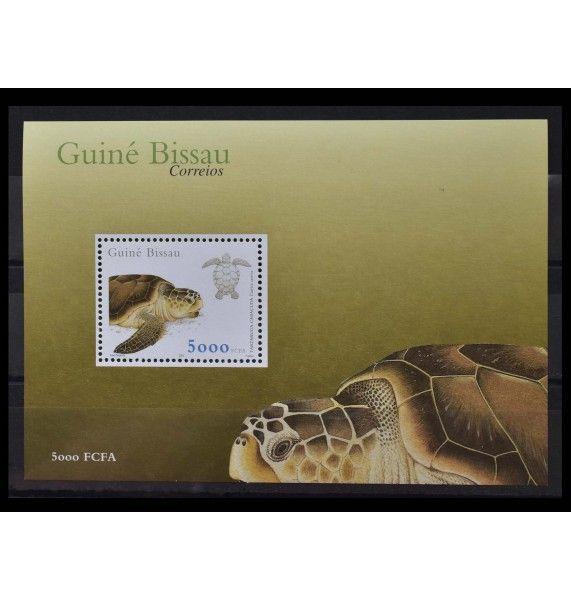 """Гвинея-Бисау 2001 г. """"Морские черепахи"""""""