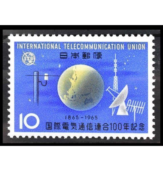 """Япония 1965 г. """"100 лет Международному союзу электросвязи (ITU)"""""""