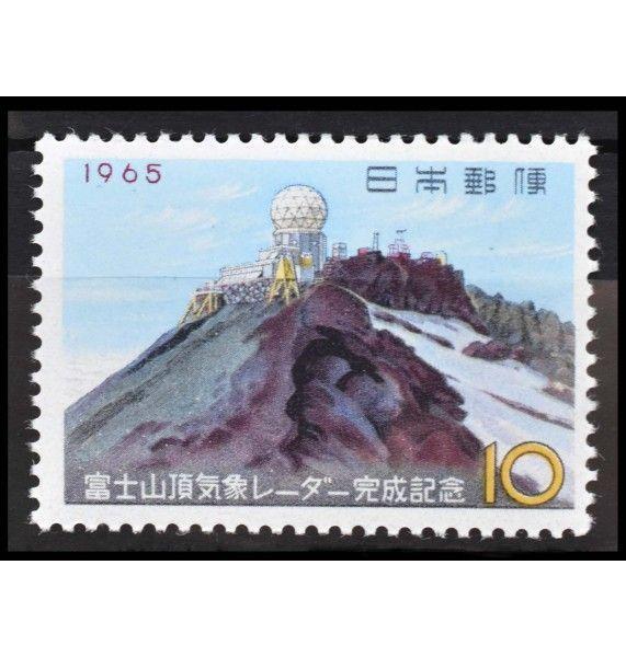 """Япония 1965 г. """"Завершение строительства Метеорологической станции на горе Фудзияма"""""""