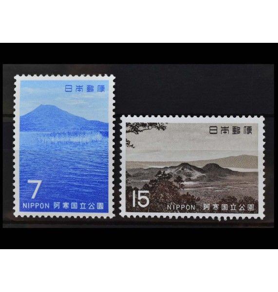 """Япония 1969 г. """"Национальный парк Акан"""""""