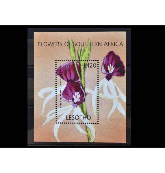"""Лесото 2002 г. """"Цветы Южной Африки"""""""