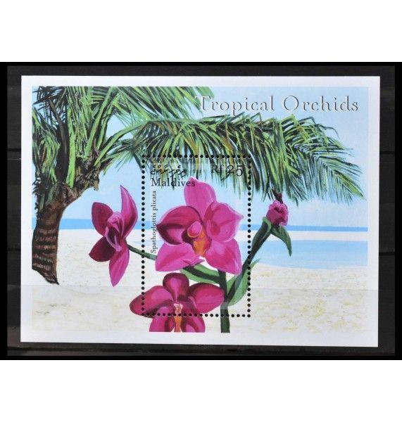 """Мальдивы 2000 г. """"Орхидеи"""""""