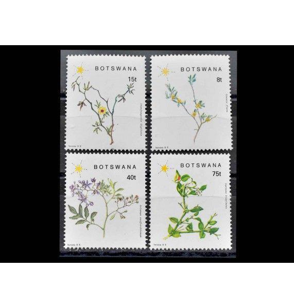 """Ботсвана 1988 г. """"Цветущие растения Юго-Восточной Ботсваны"""""""