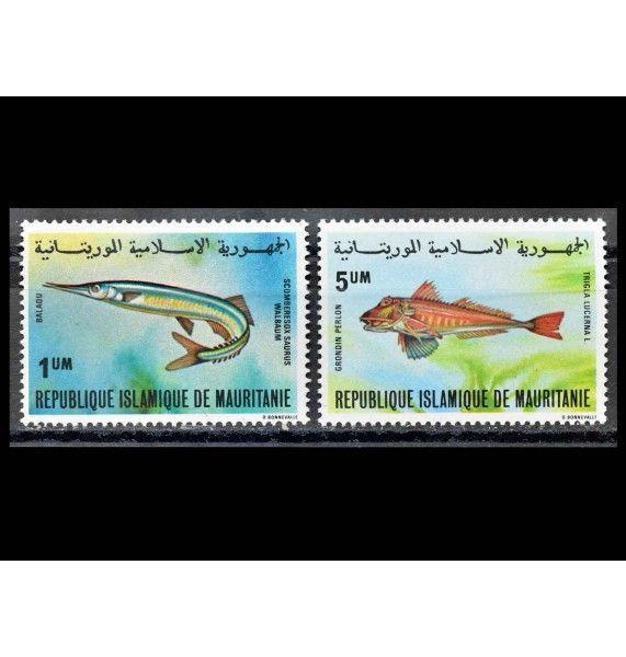 """Мавритания 1979 г. """"Местные рыбы"""""""