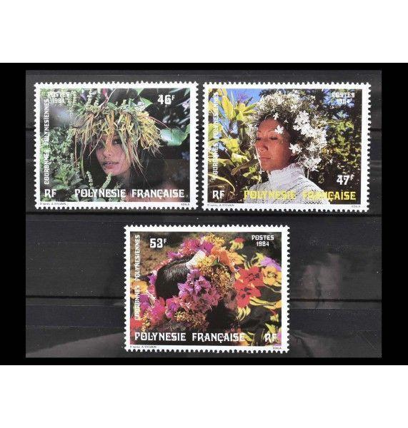 """Французская Полинезия 1984 г. """"Венки"""""""