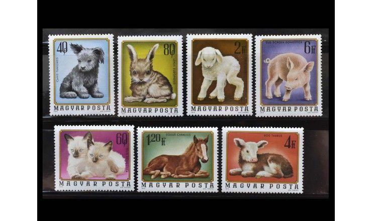 """Венгрия 1974 г. """"Домашние животные"""""""