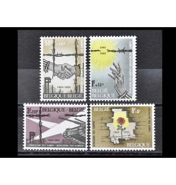 """Бельгия 1965 г. """"20-летие освобождения концлагерей"""""""