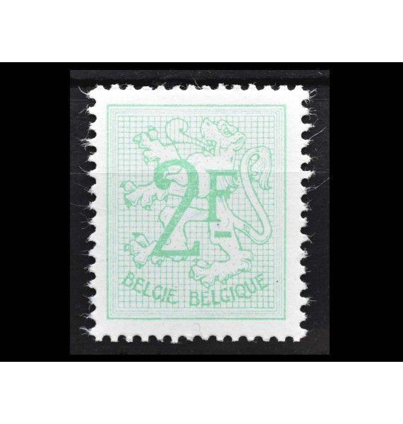 """Бельгия 1968 г. """"Стандартные марки: Геральдический лев"""""""