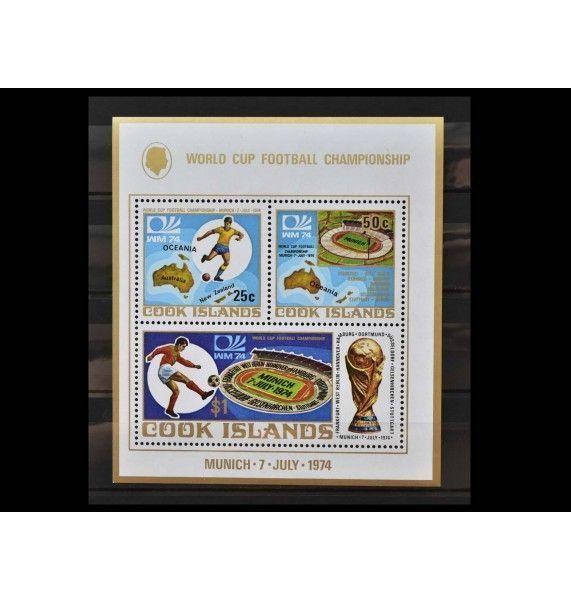 "Острова Кука 1974 г. ""Чемпионат мира по футболу, Германия"""