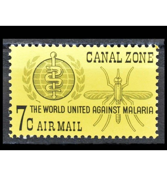 "Зона Панамского канала 1962 г. ""Кампания по борьбе с малярией"""