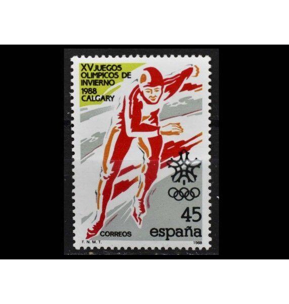 """Испания 1988 г. """"Зимние Олимпийские игры, Калгари"""""""