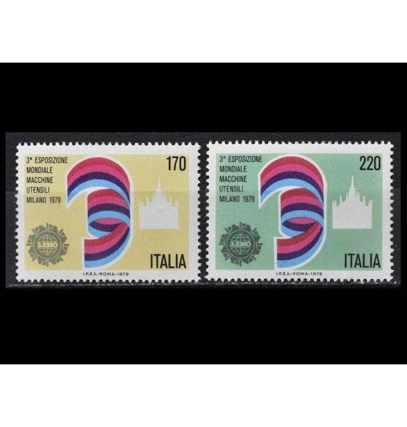 """Италия 1979 г. """"Международная выставка машиностроения, Милан"""""""