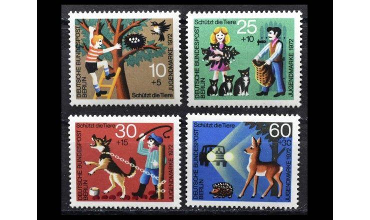 """Западный Берлин 1972 г. """"Защита животных"""""""