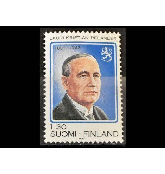 """Финляндия 1983 г. """"100-летие президента Реландера"""""""