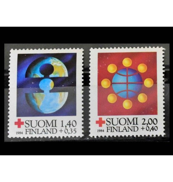 """Финляндия 1984 г. """"Красный Крест"""""""