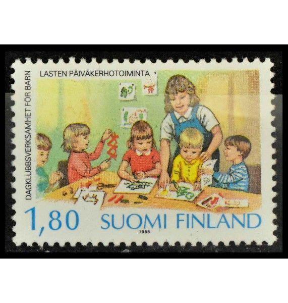 """Финляндия 1988 г. """"40 лет  детским садам Финляндии"""""""