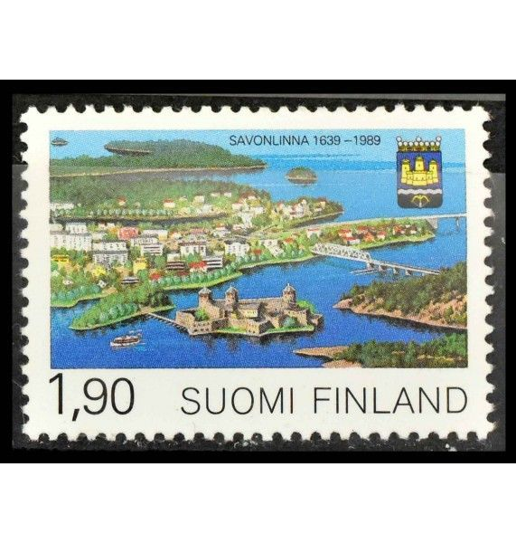 "Финляндия 1989 г. ""350-летие города Савонлинна"""