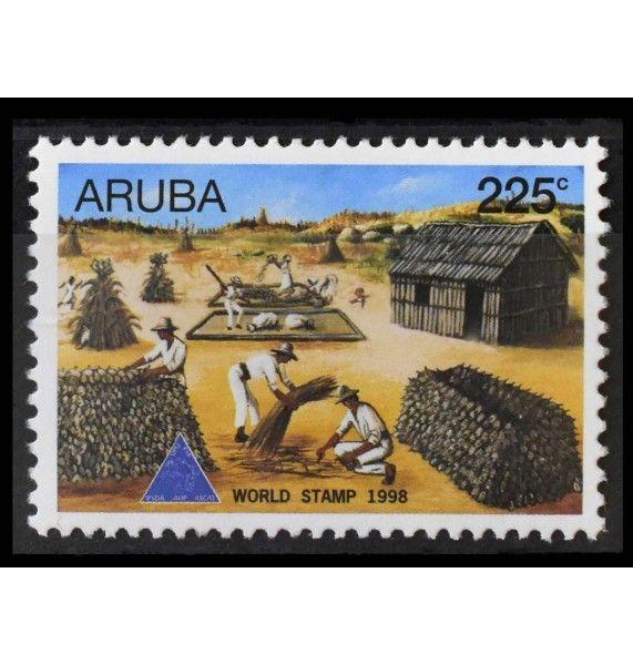 """Аруба 1998 г. """"Международный день почтовой марки"""""""