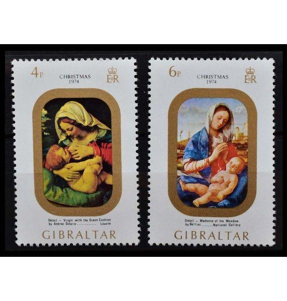 "Гибралтар 1974 г. ""Рождество"""