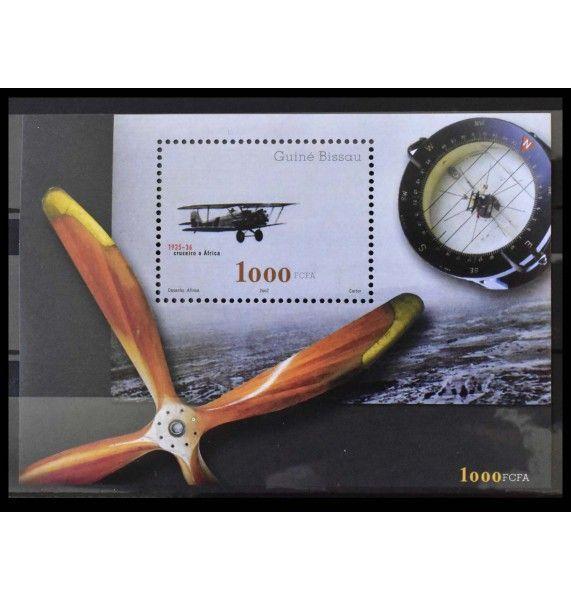 """Гвинея-Бисау 2002 г. """"История авиации"""""""