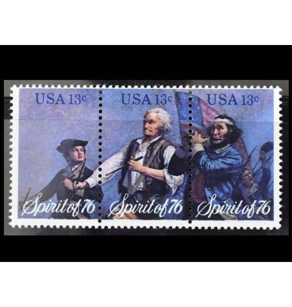 """США 1976 г. """"200 лет независимости США: Память 1776 года"""""""