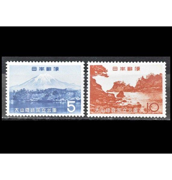 """Япония 1965 г. """"Национальный парк Дайсен Оки"""""""