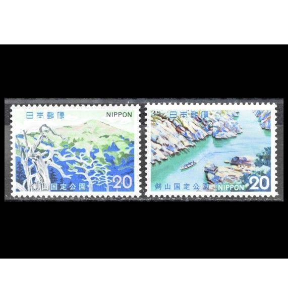 """Япония 1973 г. """"Квази-национальный парк Цуругисан"""""""