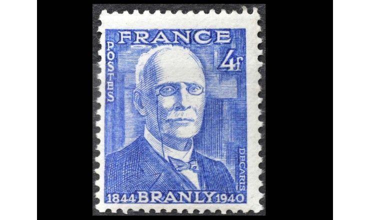 """Франция 1944 г. """"100 лет со дня рождения Эдуарда Бранли"""""""