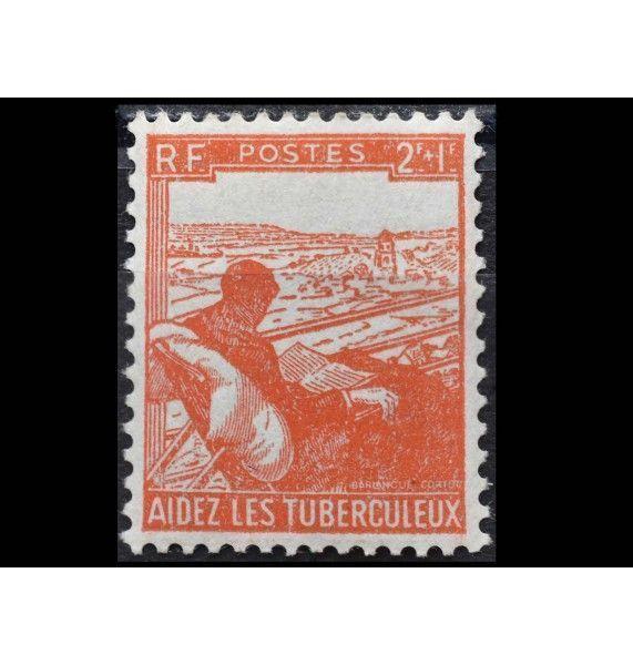 "Франция 1945 г. ""Борьба с туберкулезом"""